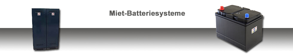 Miet-Batteriesysteme - ROTON PowerSystems GmbH