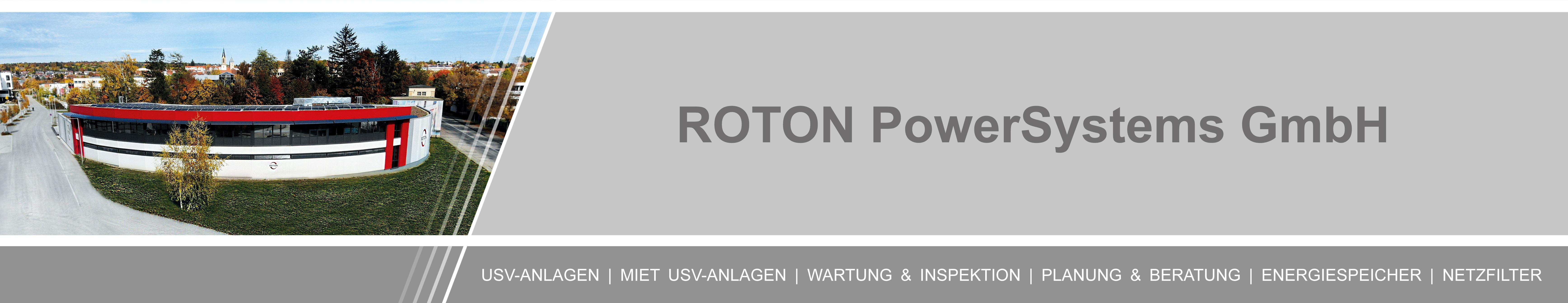Unternehmen - ROTON PowerSystems GmbH